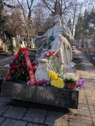 Moscou cemiterio Novodevichi chaliapin