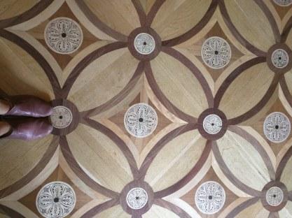 Petersburgo Hermitage chão de madeiras preciosas 4