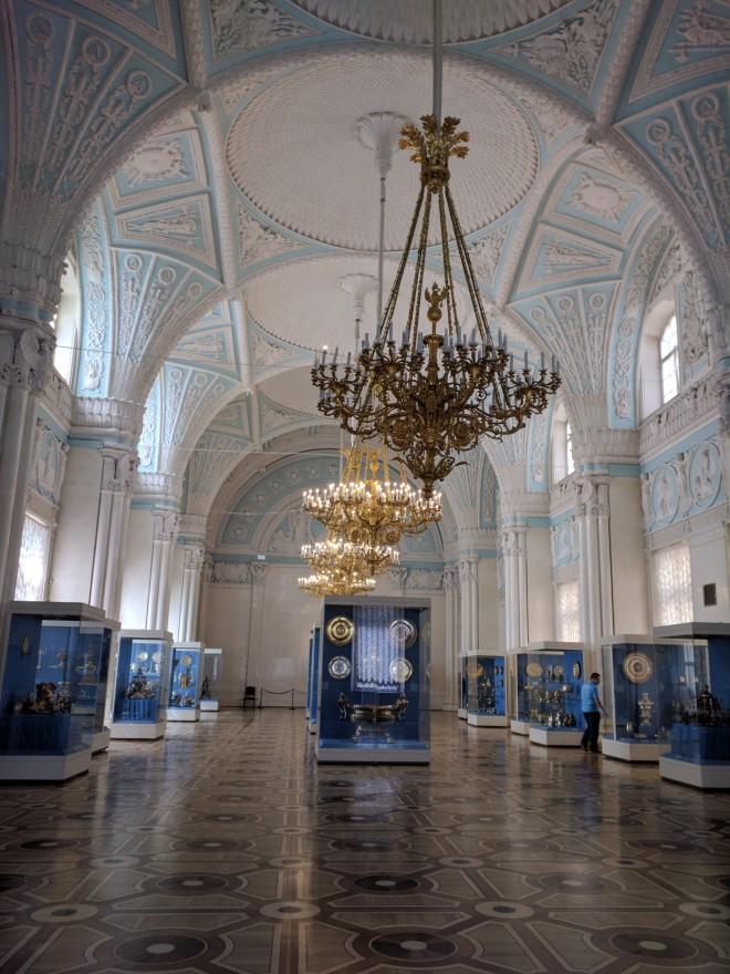 Petersburgo Hermitage pós reforma atentado