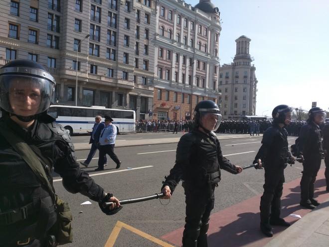 Protesto anti-Putin em Moscou 11