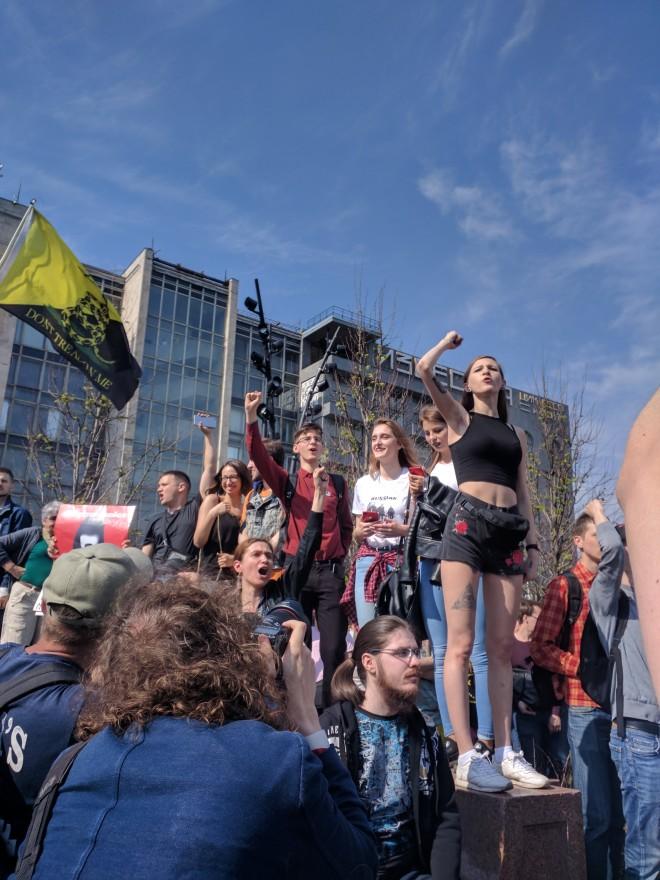 Protesto anti-Putin em Moscou 3