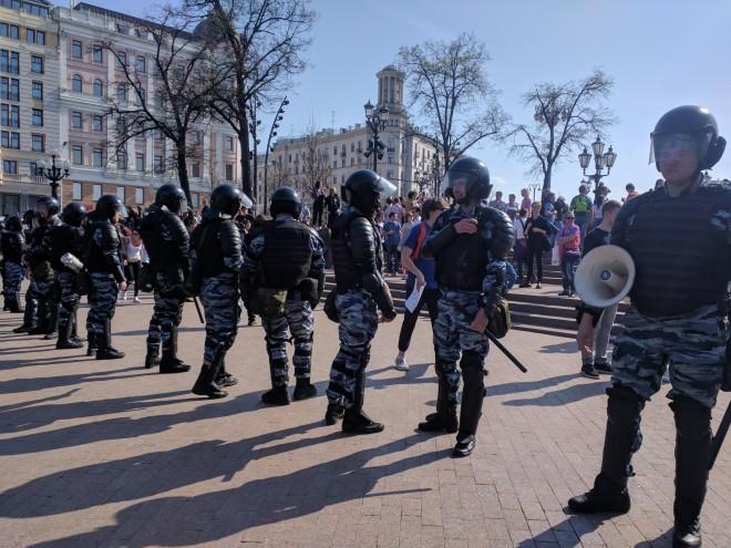 Protesto anti-Putin em Moscou 7