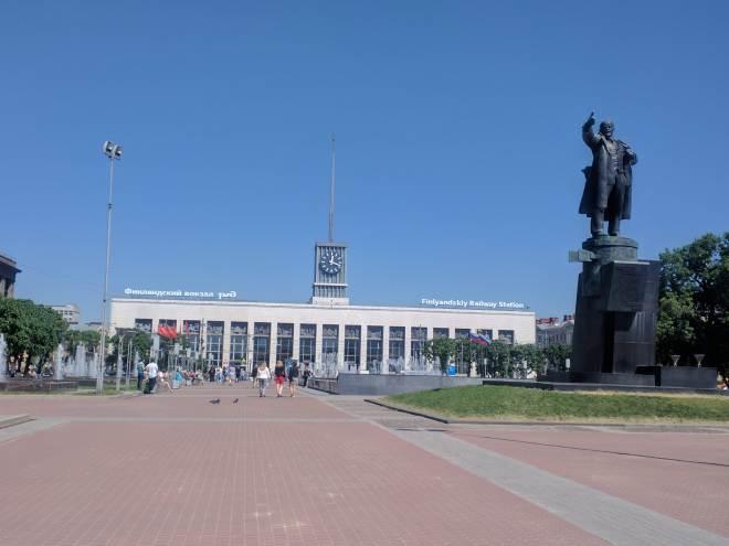 roteiro revolução russa petersburgo estação finlândia
