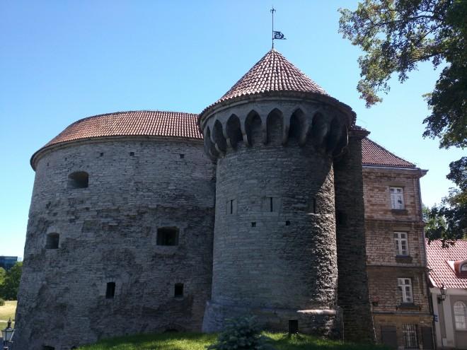 Tallinn centro historico Margarete gorda torre