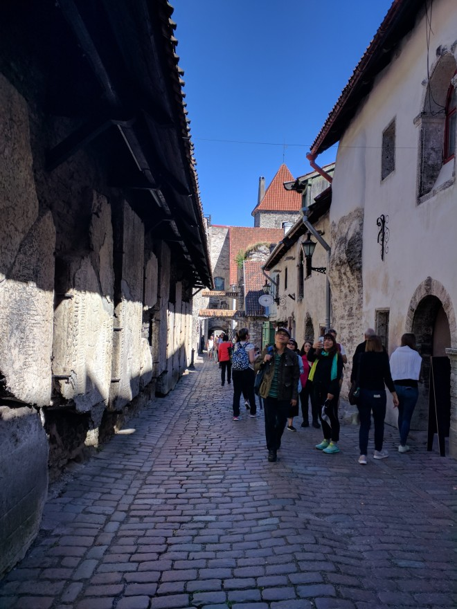 Tallinn centro historico passagem de santa catarina 1