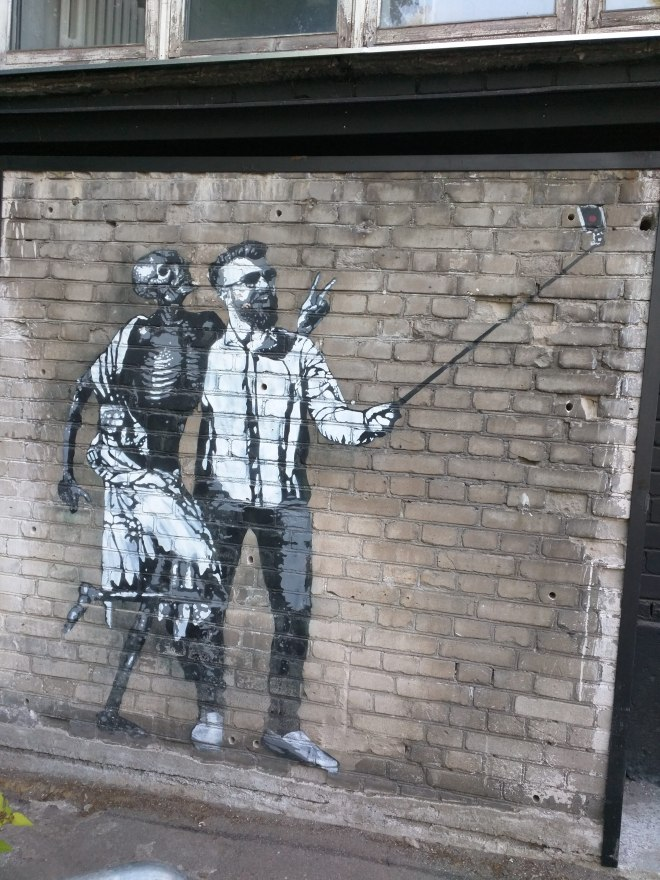 Telliskivi grafite 2