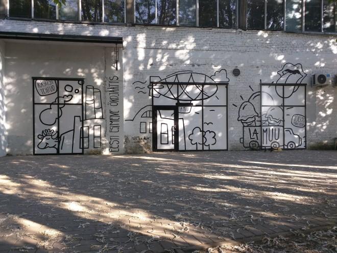Telliskivi grafite 3