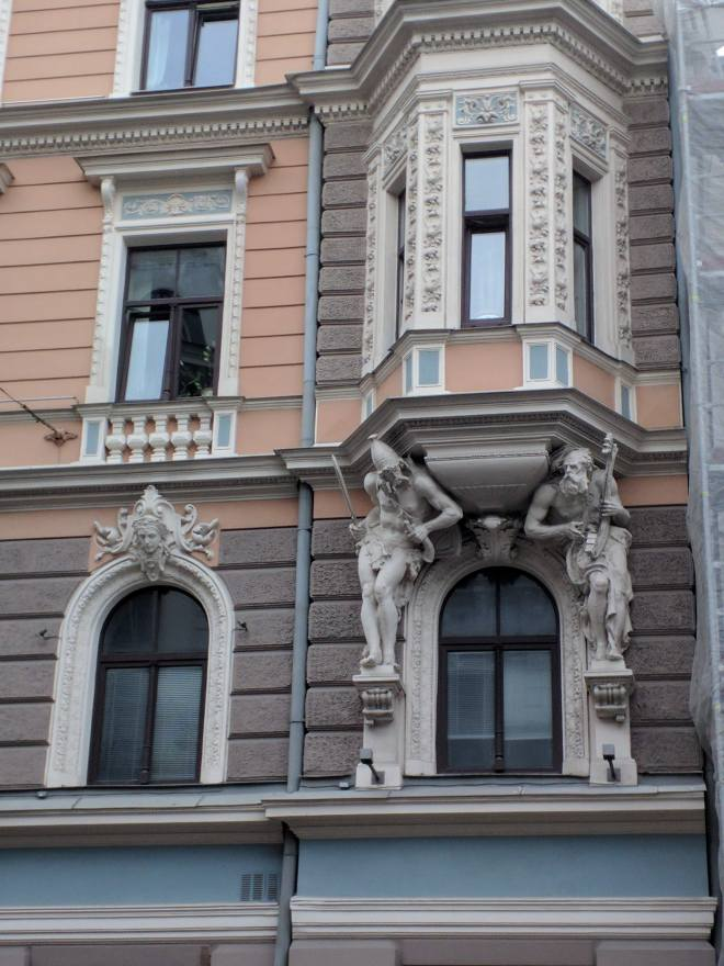 Letonia Riga Centro quieto bairro art nouveau 10