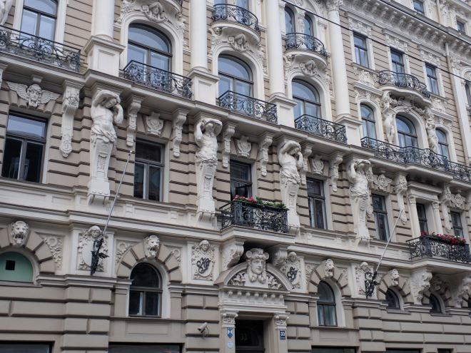 Letonia Riga Centro quieto bairro art nouveau 15