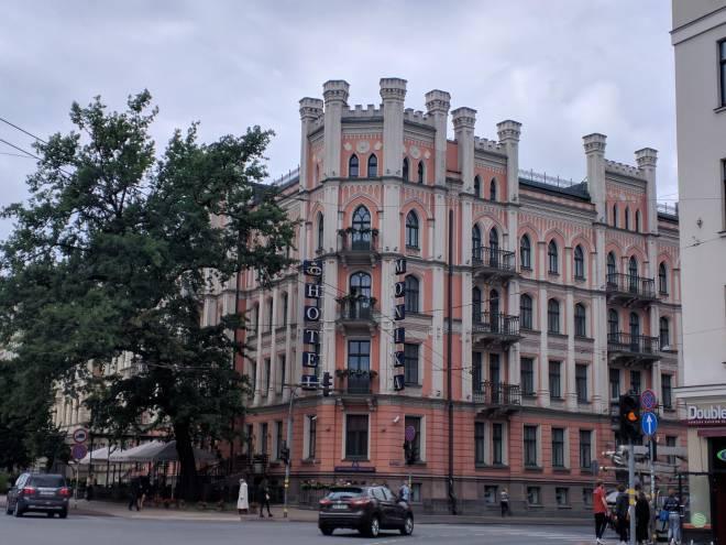 Letonia Riga Centro quieto bairro art nouveau 16
