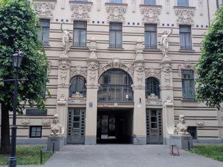 Letonia Riga Centro quieto bairro art nouveau 5