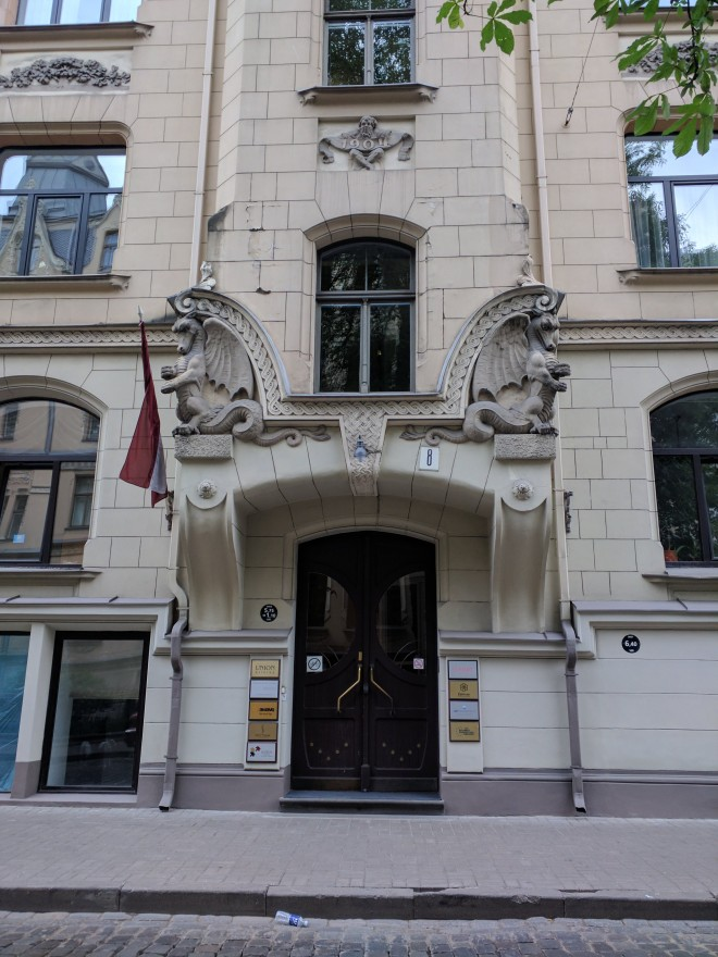 Letonia Riga Centro quieto bairro art nouveau 6