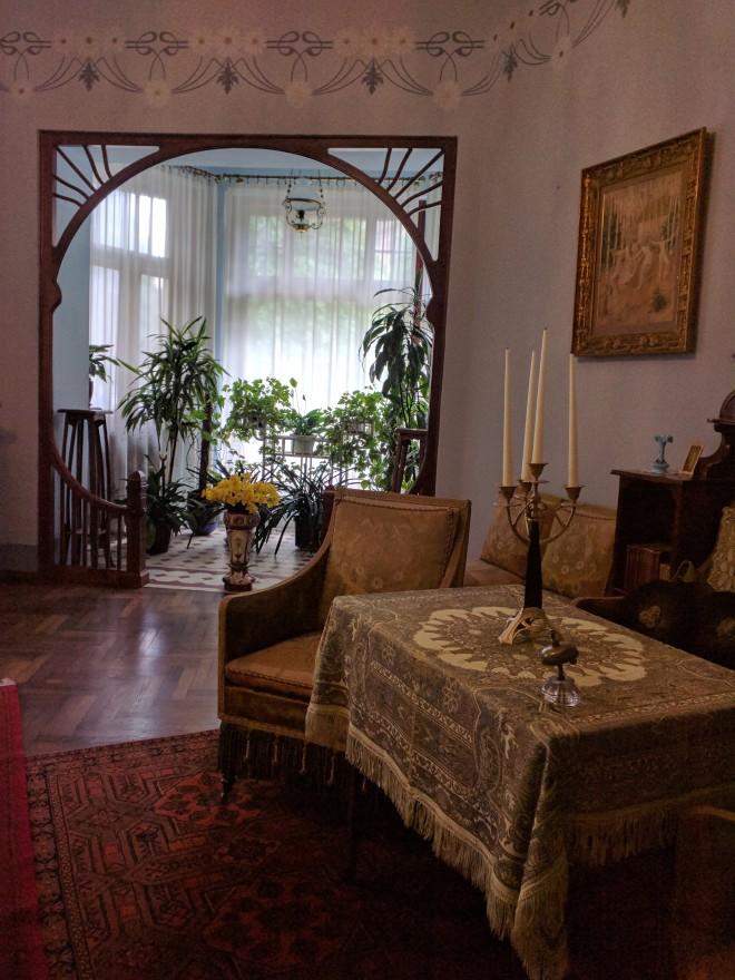Letonia Riga Museu Art Nouveau sala