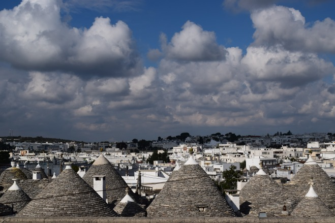 Puglia Alberobello trulli telhados