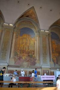 Bologna Piazza Maggiore Palazzo Re Enzo sala dei trecento 2
