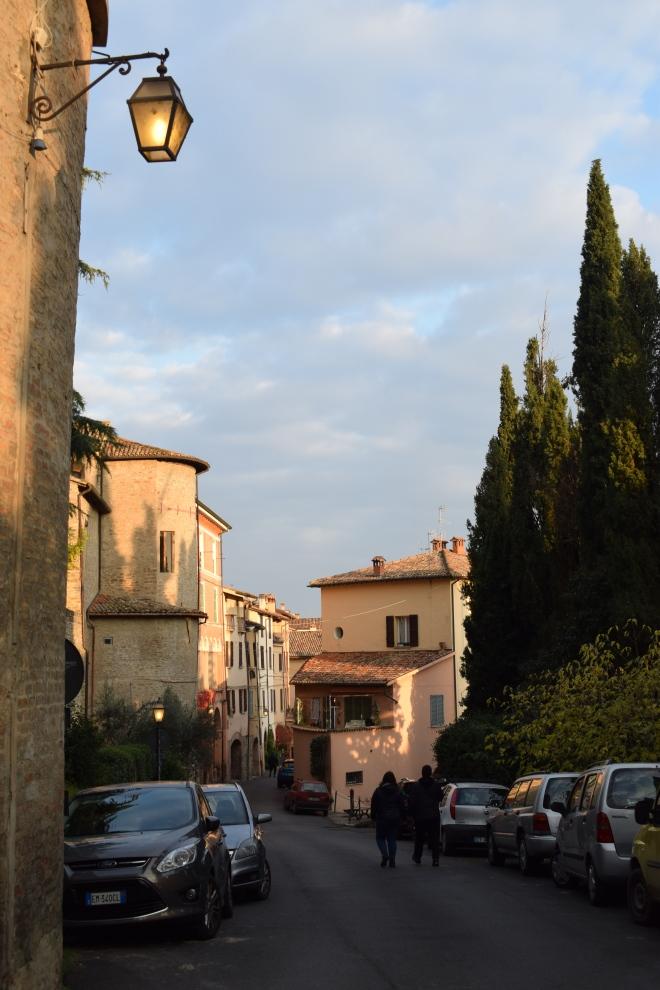 Brisighella borgo medieval italia ruas 3