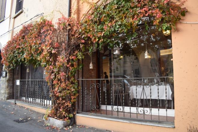 Brisighella borgo medieval italia ruas outono 1