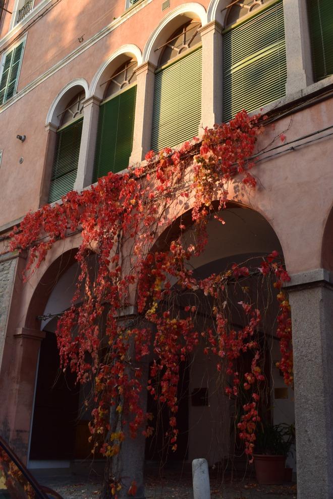Brisighella borgo medieval italia ruas outono 2