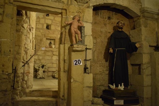 Lecce Puglia museu Faggiano capela franciscana