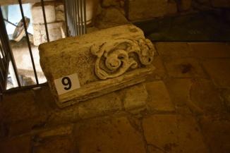 Lecce Puglia museu Faggiano capitel
