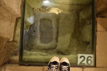 Lecce Puglia museu Faggiano o chão que eu piso