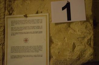 Lecce Puglia museu Faggiano símbolo templario