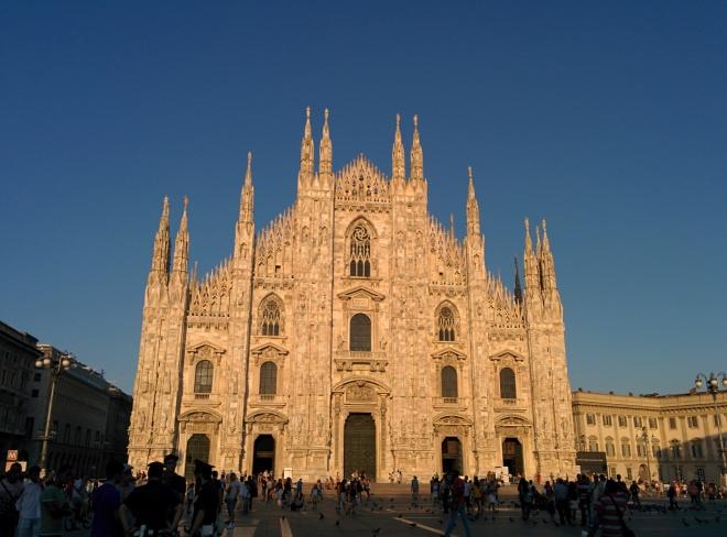 Milão Duomo 1