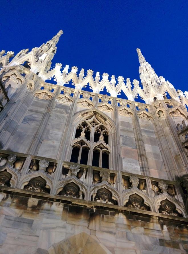 Milão Duomo terraços 2
