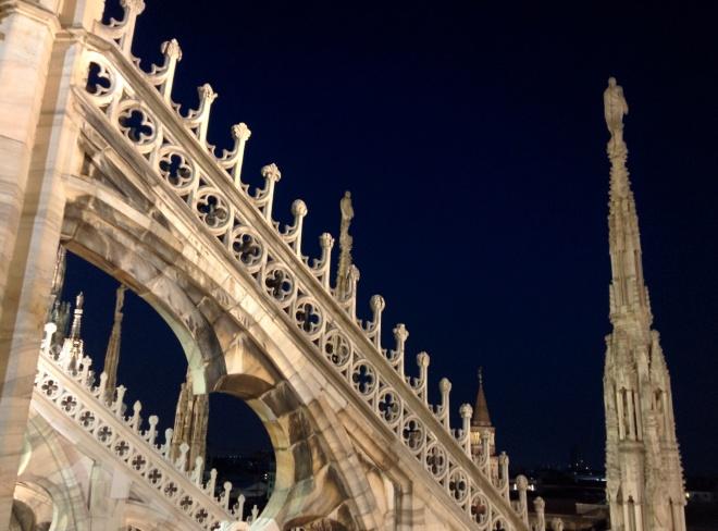 Milão Duomo terraços 4