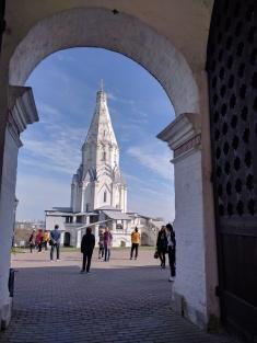 Moscou parque Kolomenskoye igreja da ascenção patrimonio unesco5