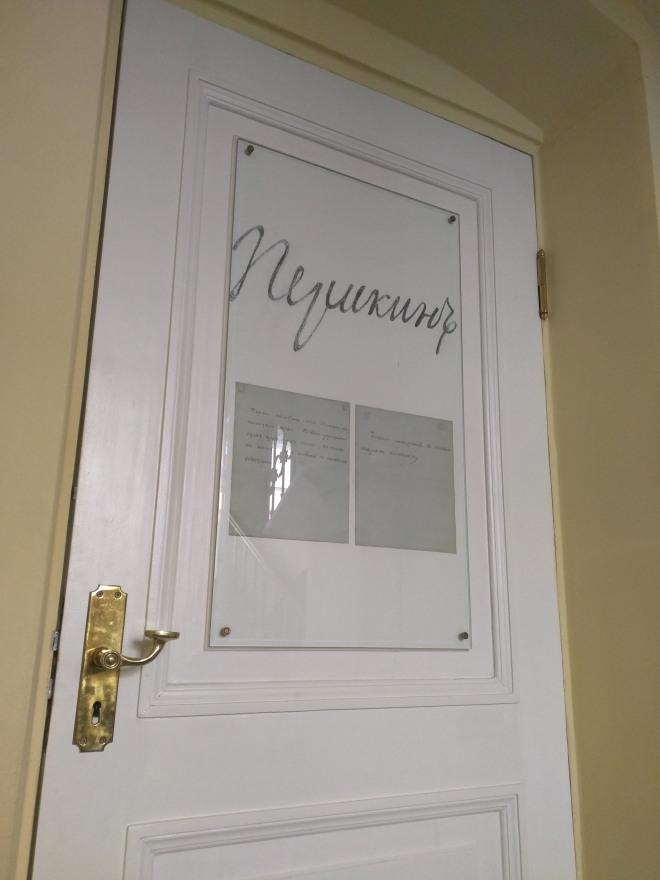 Petersburgo apartamento Pushkin