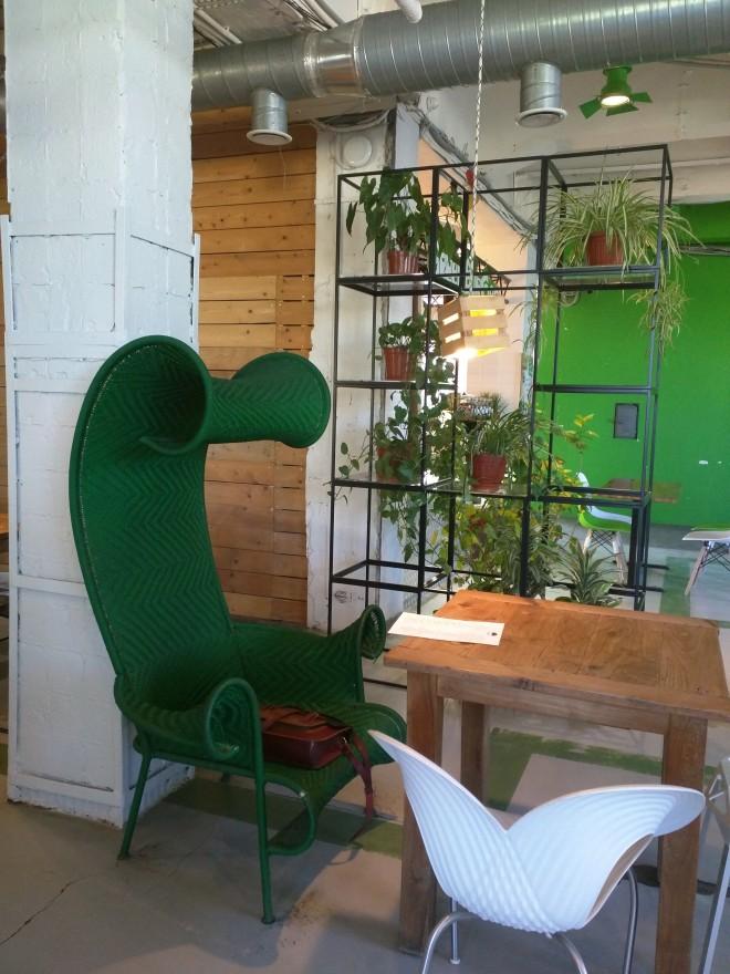 Petersburgo fabrica ocupada Loft Etagi café quarto vere