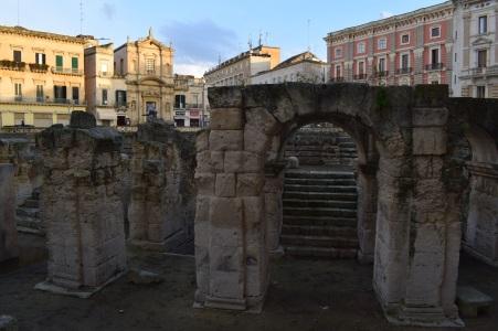 Puglia Lecce anfiteatro romano 2