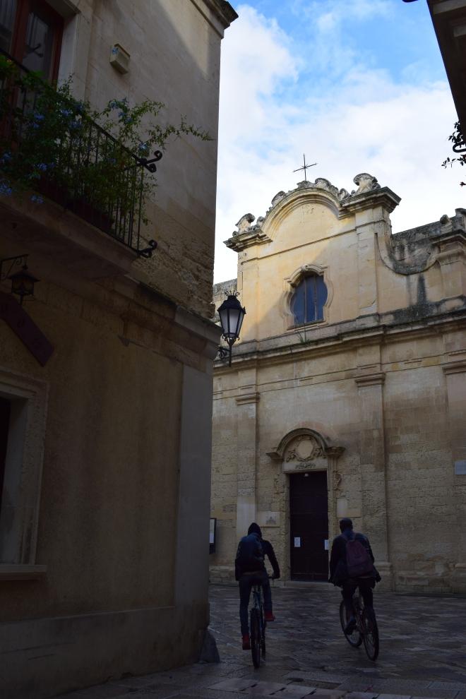 Puglia Lecce chiesa de san nicola dei greci