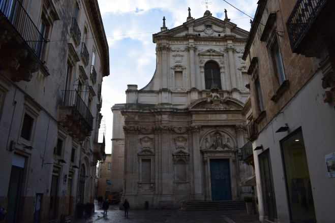 Puglia Lecce chiesa di sant'irene