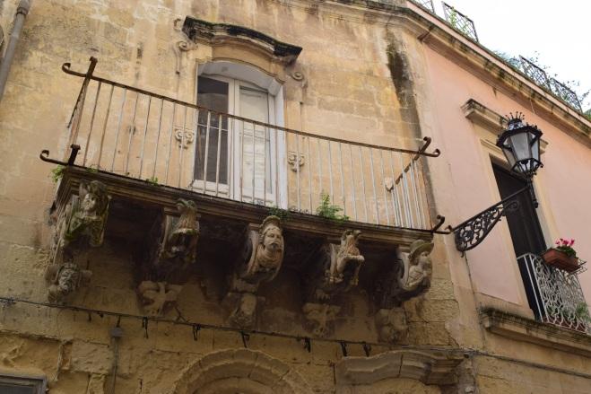 Puglia Lecce detalhes janelas