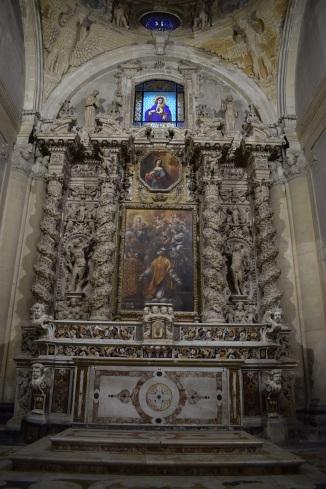 Puglia Lecce duomo interior 2