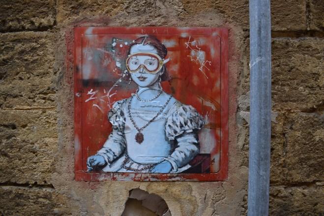 Puglia Lecce grafite l'arte sa nuotare