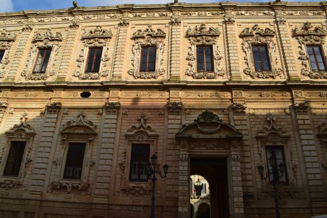 Puglia Lecce palazzo dei celestini