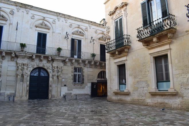 Puglia Lecce predios barrocos