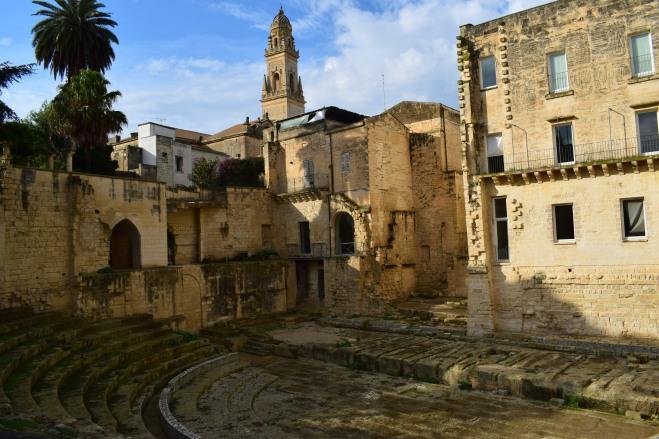 Puglia Lecce teatro grego 1