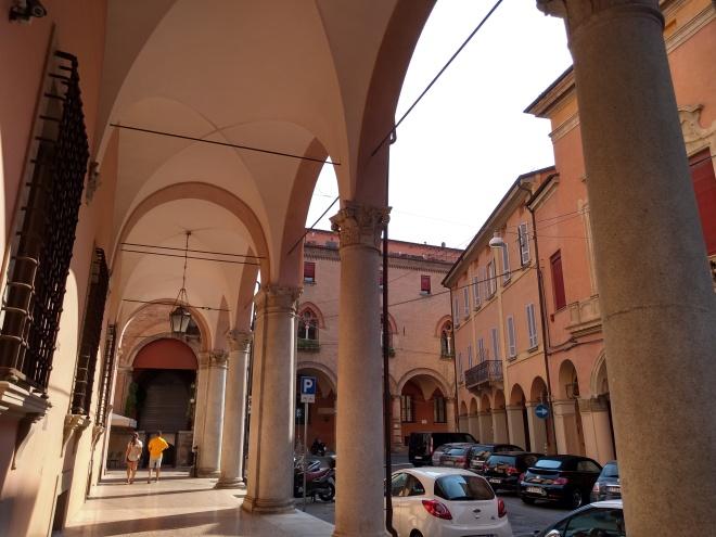 Bologna porticos galliera