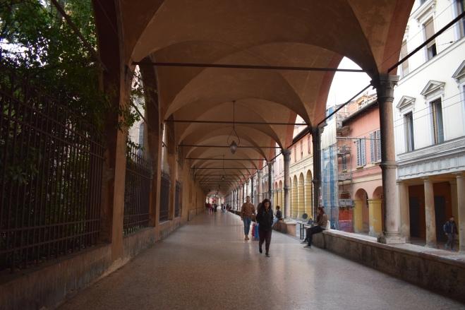 Bologna porticos Santa Maria dei Servi