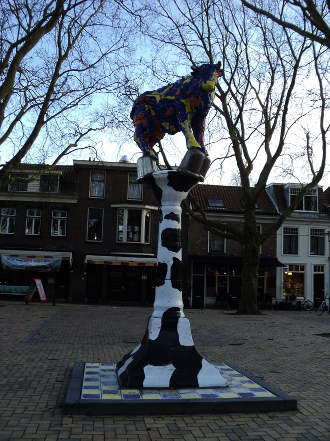 delft cow parade