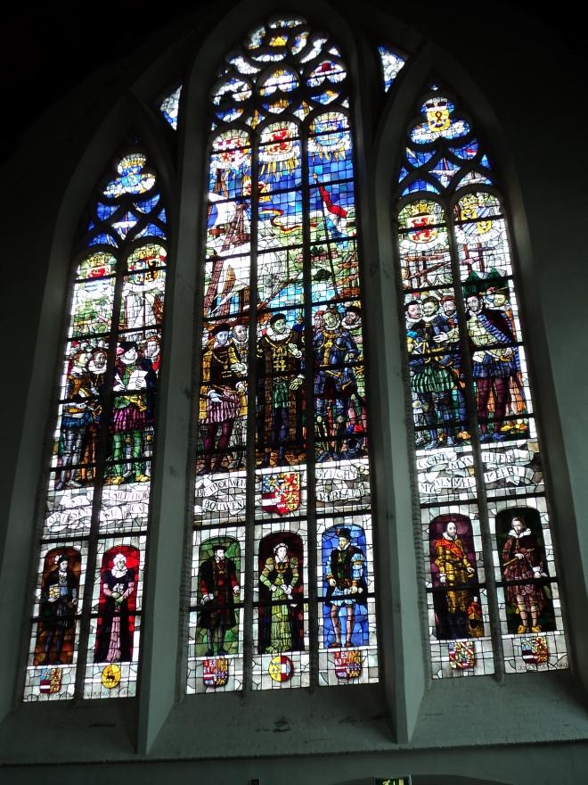 delft oude kerk vitrais