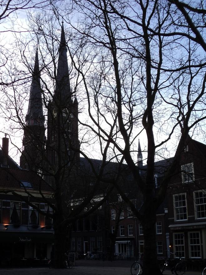 Delft torres praça