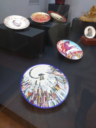 Petersburgo Noite dos Museus mansão rumiantsev pratos