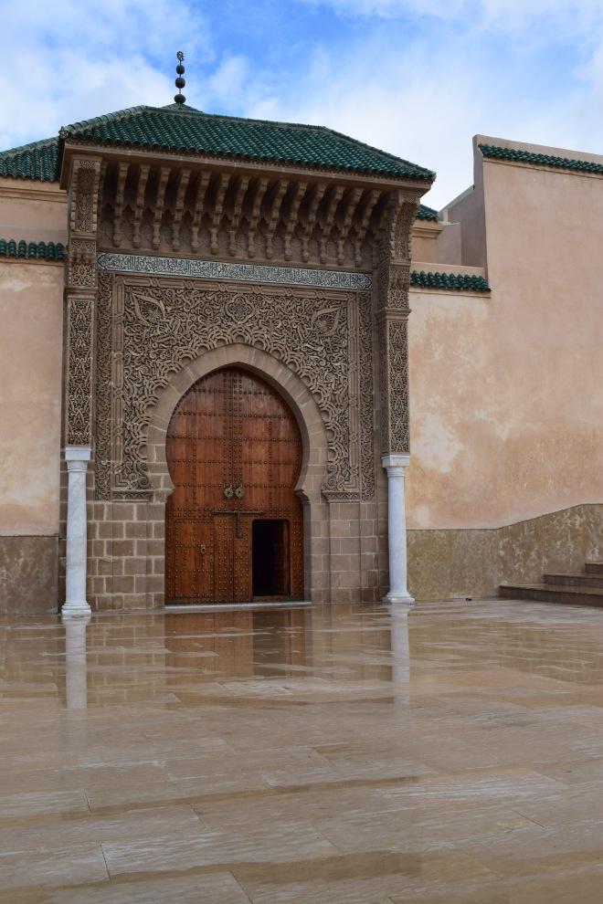 Meknes cidade imperial Marrocos musoleu Moulay Ismail