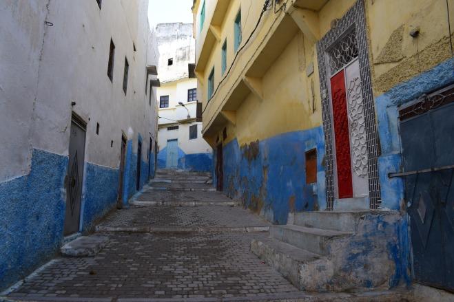 Moulay Idriss cidade sagrada marrocos porta