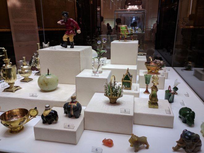 Museu Faberge Petersburgo objects de fantaisie